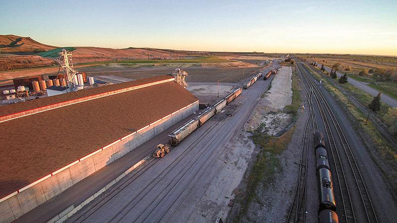 Rail Cars come to Pocatello Plant